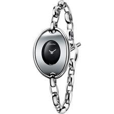 Orologio Calvin Klein Distinctive K3H23121 Nero con Catena Acciaio