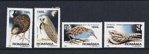 Romania - 1998, Nocturnal Birds set - MNH - SG 5950/3