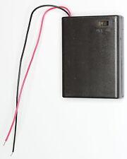 2 x AAA Batteria AA titolare con interruttore di diapositive (15cm piombo) contiene 3 BATTERIE AA
