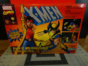 Kotobukiya ArtFX+ X-Men '92 Wolverine & Jubilee 1/10 scale Pre-Painted Model Kit