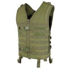 Condor Mv-001 Gilet Tactique modulaire Molle Vest AC 3 poches & Shock Stop Vert