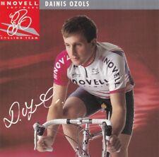 CYCLISME carte cycliste DAINIS OZOLS équipe NOVELL 1995