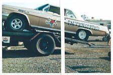 "1960s Drag Racing-Wayne Ewing-Ewing Bros-1962 409 Chevy Impala-""MR INTENSIFIED"""