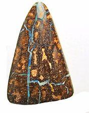 40 carat boulder opal, blue/green veins, 32 x 23 x 7 mm undrilled