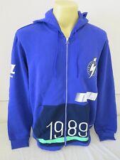 "ADIDAS ORIGINALS TEAM J.MANO ZIP HOODY JACKET XL RRP90 1989 PURPLE 51.6"" CHEST"
