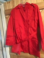 "New By La Redoute Coat. Mac In Vivid Red Size 10 / 12 Chest 36"" Lightweight Coat"