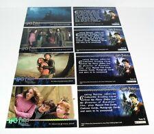 2004 ARTBOX HARRY POTTER PRISONER OF AZKABAN HOLOFOIL STAMPING 4 CARD PROMO SET