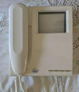 Bitron Video MV100 Mono Door Entry Phone White Used