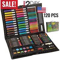 Art Set Kit For Kids Teens Adults Supplies Drawing Painting Professional Art Set