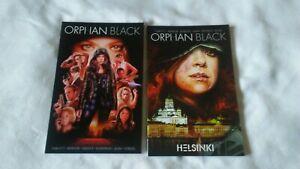 Orphan Black-1st Printing Orphan Black: Helsinki-2nd Printing. IDW 2 TPB Lot