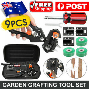 Garden Grafting Tool Set Kit FruitTree Pro Pruning Shears Scissor Cutting Tools