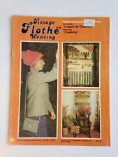 Flothe Weaving book 1979 70's French & English Tissage Macrame Arts & Crafts