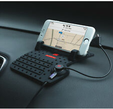 IPhone 4 5 6 & GALAXY CELLULARE AUTO CRUSCOTTO NAVIGATORE SATELLITARE GPS HOLDER ANTI SLIP MAT