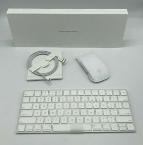 Apple Mac Wireless Keyboard And Magic Mouse 2 Set Rechargeable (A1644 A1657) NEW