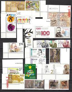2020  Bulgaria - 1, standard Year set, 19  S/S + 22 stamps, MNH -** 4 photos