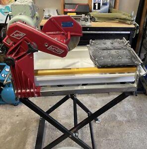 mk diamond wet tile saws for sale in
