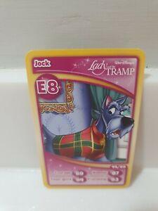Morrisons Disneyland Paris 20th Anniversary Trading Card E8 JOCK