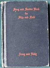 1942 WW II Religious Song & Service Book for Ship & Field - Army & Navy