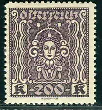 Österreich 1922 Nr. 402 B II Frauenkopf postfrisch
