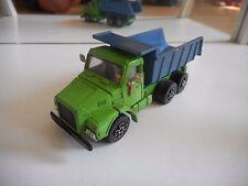 Playart Volvo 12 Turbo Dump Trukc in Green/Blue