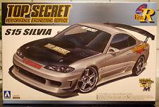 1999 Nissan Silvia S 15 / PS15  Top Secret, 1:24, JDM Aoshima 045053