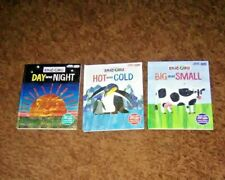 LOT 3 MY FIRST SMART PAD HC BOOKS OPPOSITES BY ERIC CARLE USED VG CONDITION