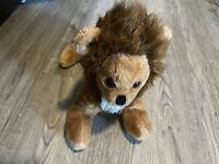 "Vintage 1978 RAJA The Lion Russ Berrie 14"" Plush Stuffed Animal RARE Brown Cat"