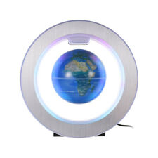 4 Inch Magnetic Levitation Floating Globe Lighting Blue Earth Globe w/ LED Base