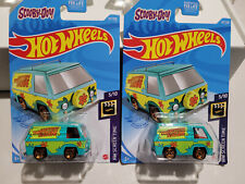 Hot Wheels 2021 - Lot of 2 - Scooby-Doo - The Mystery Machine - HW Screen Time!
