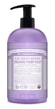 DR BRONNER`S ORGANIC 4-in-1 SUGAR LAVENDER SOAP 709ml - FAIRTRADE