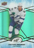 2018-19 Upper Deck Ice Hockey Green #11 Victor Hedman Tampa Bay Lightning