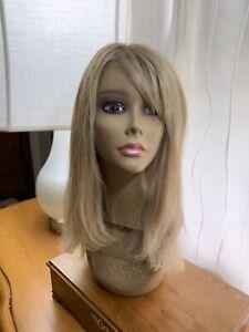 100%Hand Tied Blonde wig