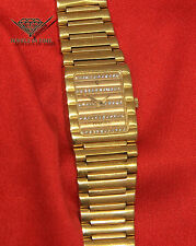 Concord Vintage 18k Yellow Gold & Diamond Quartz 19mm Ladies Watch Box/Papers