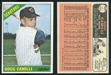 (29117) 1966 Topps 593 Doug Camilli SP Senators-EM