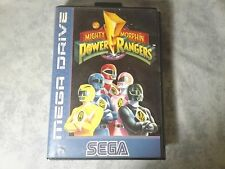Mighty Morphin Power Rangers Sega Mega Drive PAL Italian CIB Complete Box System