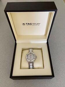 TAG Heuer Formula 1 WAH1211 Stainless steel / white ceramic wristwatch