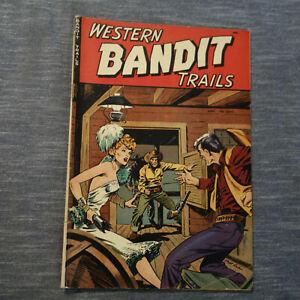 Western Bandit Trails #2 APRIL 1949- MATT BAKER- (kf)