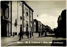 Cartolina Pescara - Via G. D'Annunzio E Chiesa Della Conciliazione Viaggiata