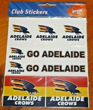Adelaide Crows Stickers - Great for school books, lunch boxes - Brand New