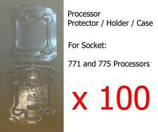 100 x Socket LGA77x (771 and 775) Processor CPU Cover Holder Protector Case