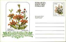 """Südafrika Karten-Ganzsache ungelaufen 1979 Serie Blumen 8 C Homeland """"VENDA"""""""
