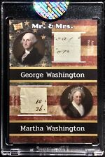 2020 THE BAR PIECES OF THE PAST GEORGE WASHINGTON / DUAL HAND WRITTEN DOCUMENT