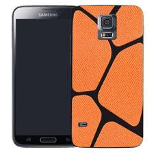 Étuis, housses et coques orange Samsung Galaxy S5 en silicone, caoutchouc, gel pour téléphone mobile et assistant personnel (PDA)