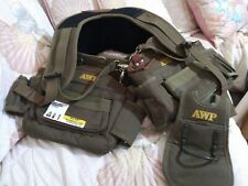 AWP Camo Suspension Rig Tool Belt  Harness Padded Construction 36