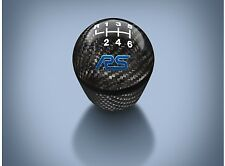 OEM NEW 16-18 Ford Focus RS Carbon Fiber Gear Shift Knob W/ Blue RS Logo