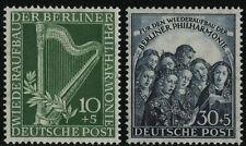 BERLINO 1950 Mi n° 72 e 73  MNH