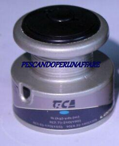 TiCA LONG CAST SPOOL  bobina di ricambio-spare spool-grafite