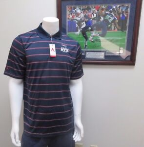 NFL New England Patriots Super Bowl LI HTX Deluxe Collared Polo Shirt By Antigua