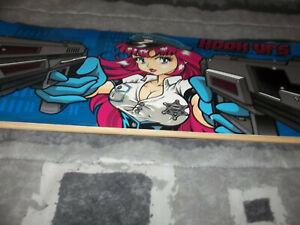 Hookups One Owner NOS Two Guns Skateboard Deck With Shop Price Tag Hook Ups
