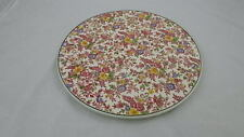 "Vtg Royal Tudor Ware Cake Plate by Barker Bros Ltd Chintz Floral 11 3/4"" England"